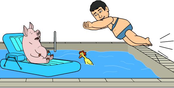 pinzamiento piscina y lumbares